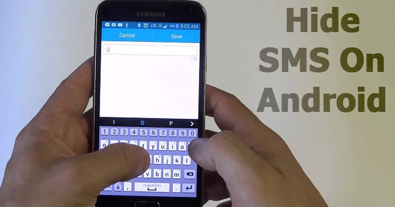 How To Hide SMS On Android to Keep Your Messages Private
