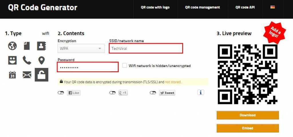 How To Share Wi-Fi Password Using Simple QR Codes3