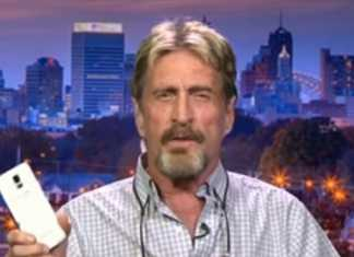 """John McAfee Suggests FBI """"How to Hack any iPhone in 30 minutes"""""""
