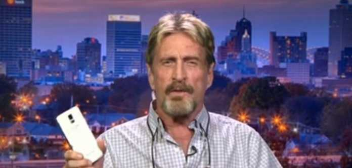 John McAfee Suggests FBI