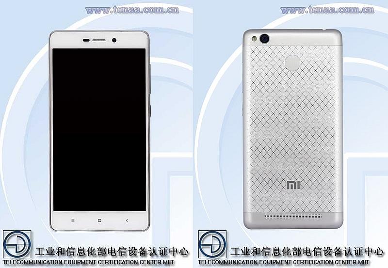 Leaked Image of Redmi 3 Fingerprint Variant