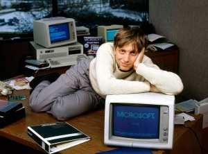 Microsoft co-founder became the youngest billionaire