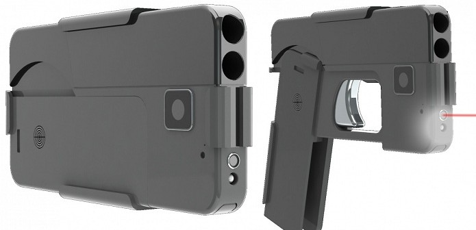 New Pistol Can Be Folded to Make it Look Like Smartphone