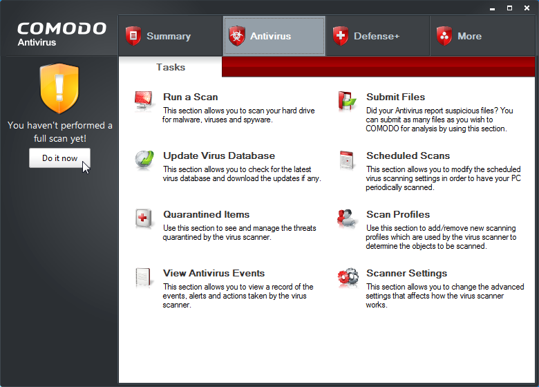 Scan Through Your Updated Antivirus or Antimalware