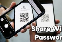 How To Share Wi-Fi Password Using Simple QR Codes