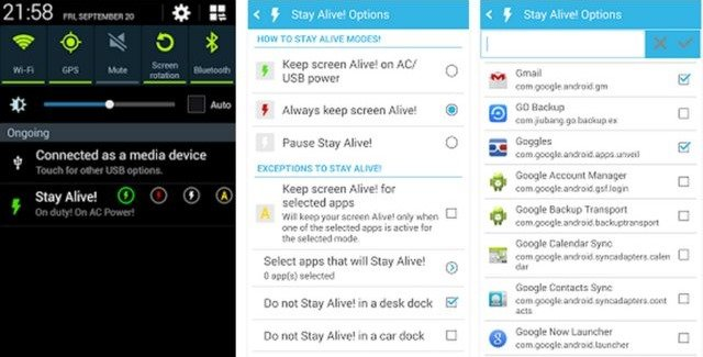 Make WhatsApp and FB Messenger Online All time In Android
