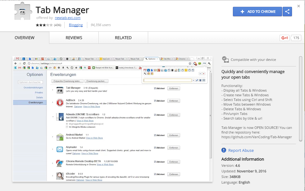 Top 20 Best Google Chrome Tab Manager Extensions