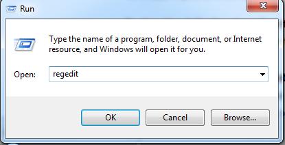 Using Registry Editor