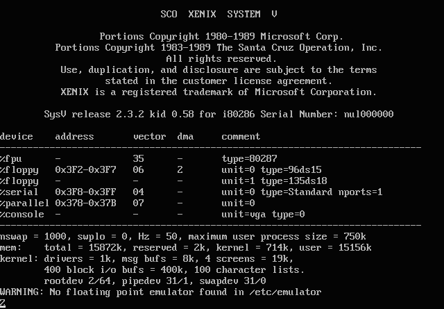 MS-DOS Was not the first OS from Microsoft