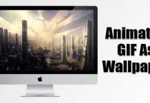 How to Use an Animated GIF as the Wallpaper On Your MAC