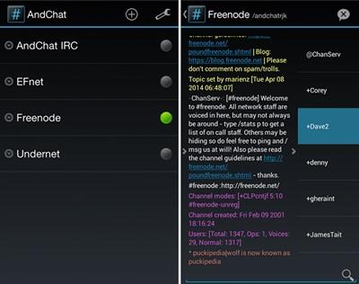 Best IRC (Internet Relay Chat) Clients for Android