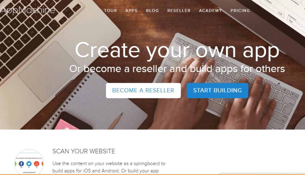 best free app builder 2019