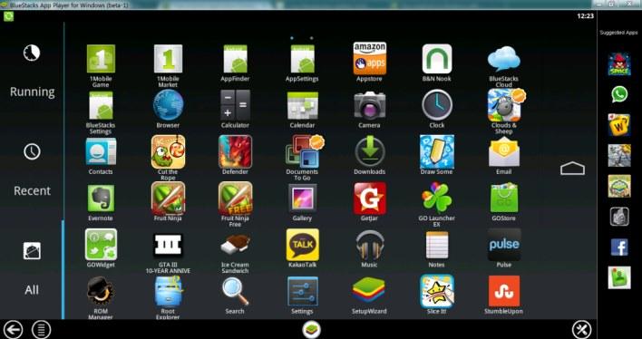 BlueStack Emulator