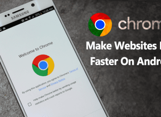 How to Make Websites Load Faster In Google Chrome On Android