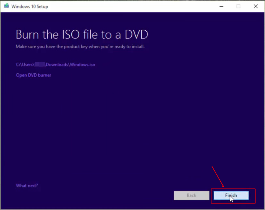 Windows 10 Installation Disc