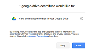 Mount Your Google Drive in Ubuntu
