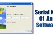 3 Best Ways To Find Serial Key Of Any Software