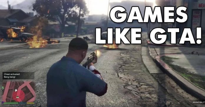 Top 20 Best Games Like GTA (Grand Theft Auto)