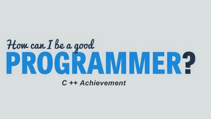Became A Good C++ Programmer