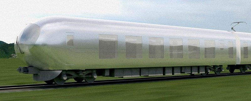 "Japan Scientists Are Designing ""Invisible Train"", To Be Unveiled By 2018"