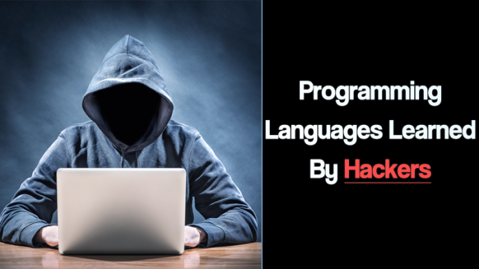 best programming languages learned by Hackers