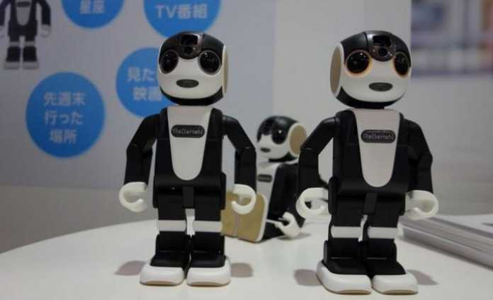 Meet Sharp's Android Powered Robot Phone Which Has Legs