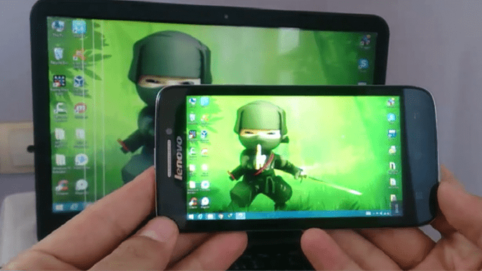 How to Mirror Your Android Mobile Screen to Window PC