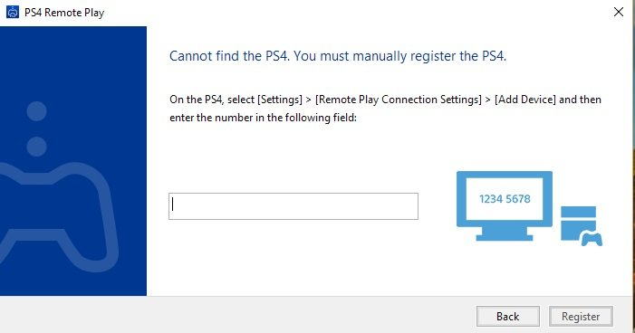 Play PS4 Remotely on PC