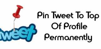 Pin A Tweet To The Top Of Your Profile Permanently