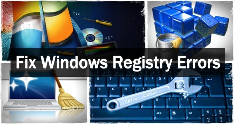 How To Fix or Repair Windows Registry Errors