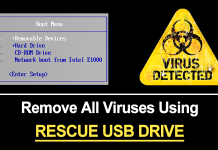 How To Remove All Viruses From PC Using Rescue USB Drive