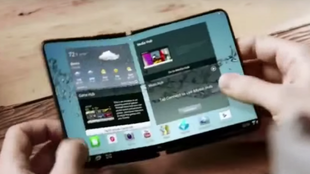 Samsung May Launch 5-inch Foldable Smartphone Next Year
