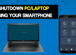 How To Remotely Shutdown PC From Anywhere With Smartphone