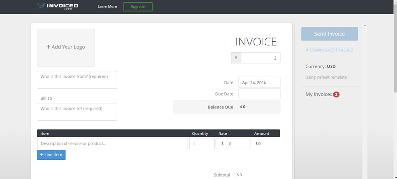 Tools to Instantly Create Invoices for Free