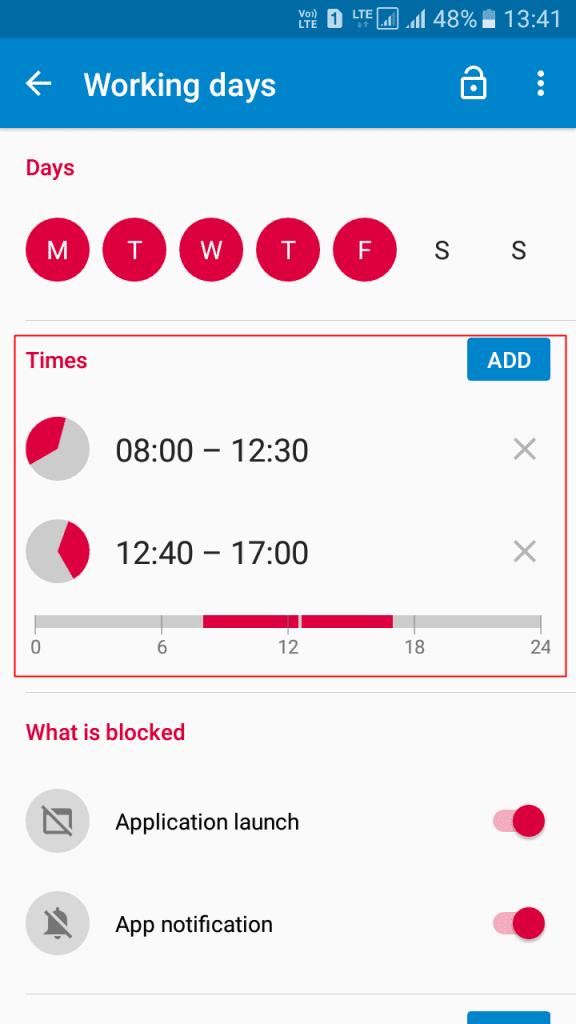 Using App Block