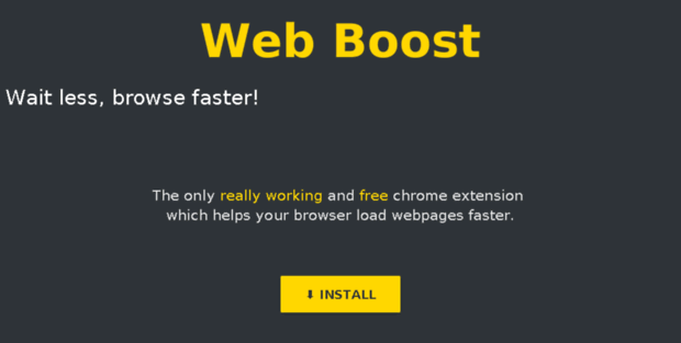 Web Boost - Wait Less, Browse Faster!