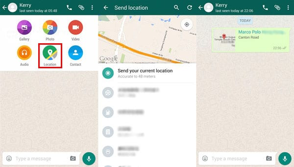 WhatsApp Location sharing - Top 8 Ways to Share Your Location with Friends and Family