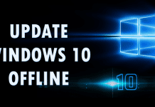 How To Update Your Windows 10 Offline