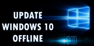How To Update Your Windows 10 Offline