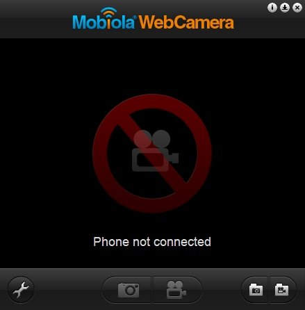 Search and download Mobiola WebCamera client on desktop