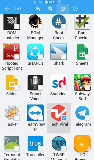 Make Backup of Your Android Apps in ES File Explorer