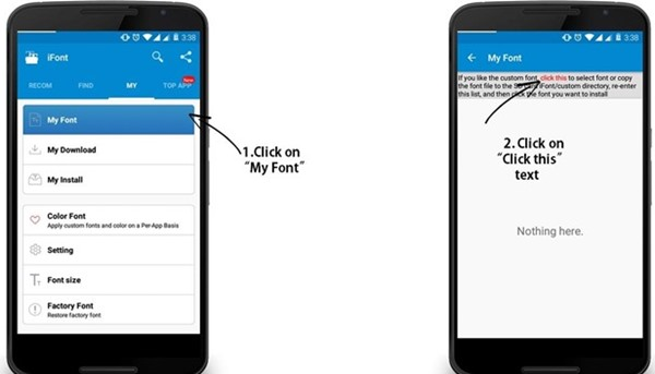 Use Your Own Handwriting as System Font in Android