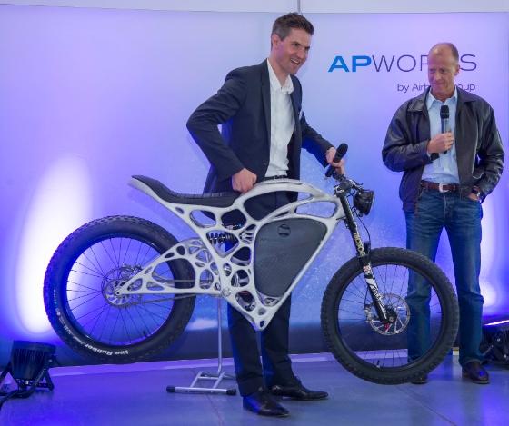 Airbus apworks 35kg Light Rider