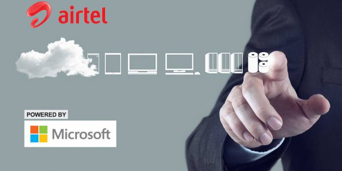 Airtel Decided To launch Cloud Platform Together With Microsoft