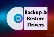 Backup and Restore Drivers on Windows