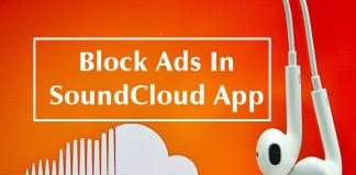 Block Ads In SoundCloud Official App