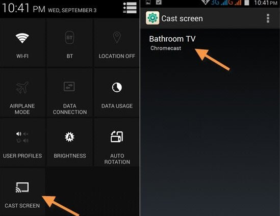 Cast Android Screen on Your TV1