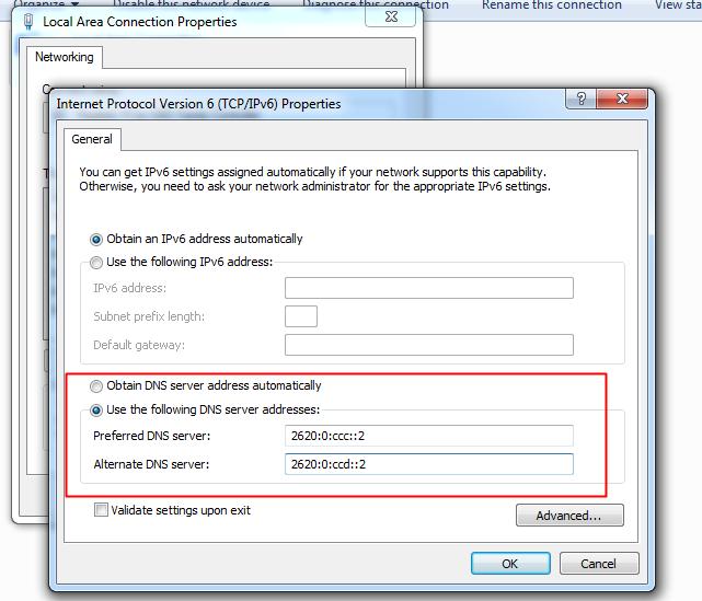 Speed Up Web Browsing Using DNS Hack
