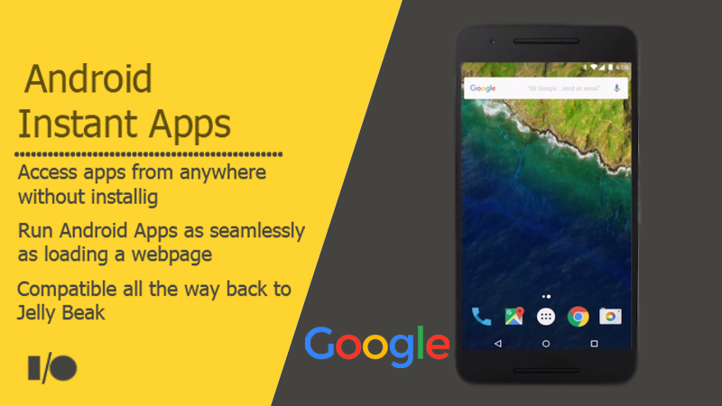 Google's Instant Apps Lets You Run Apps Without Any Installation