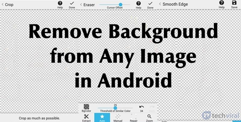 How To Remove Background from Any Image in Android